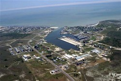 PORT MANSFIELD AERIAL PHOTO