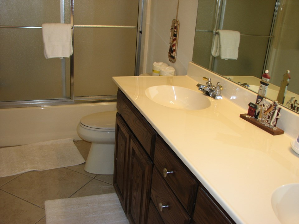 unit a and b master baths