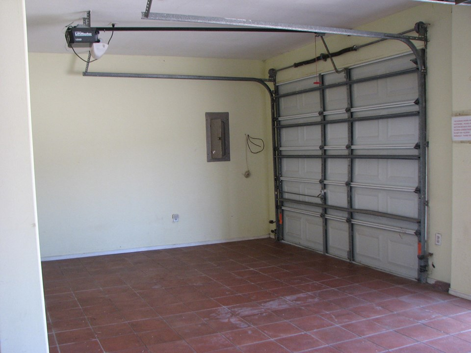 small area in garage could be used for your toys