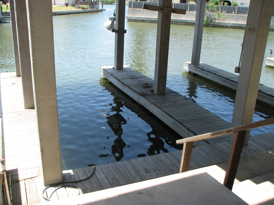 your boat house is waiting for your boat or boats