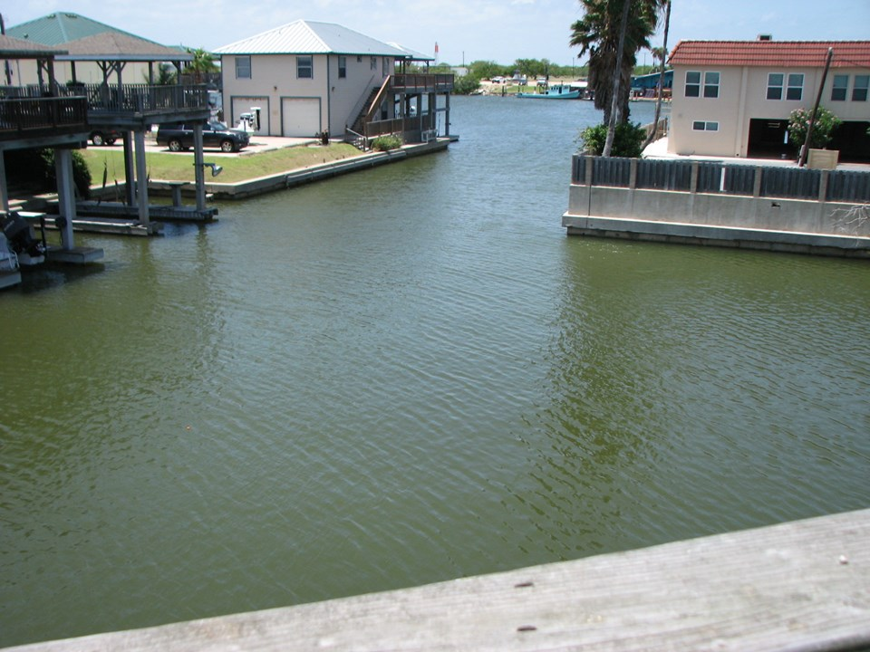 view of serenity harbor from the deck